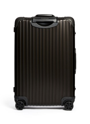 RIMOWA - Topas Stealth Special Multiwheel® (Two-Tone: Black & Silver, 64-litre)