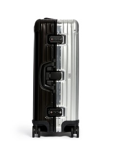 RIMOWA Topas Stealth Special Multiwheel® (Two-Tone: Black & Silver, 64-litre)