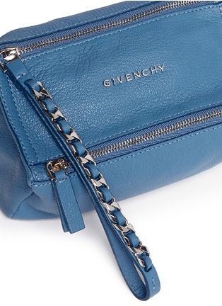 Detail View - Click To Enlarge - Givenchy - 'Pandora' leather wristlet pouch