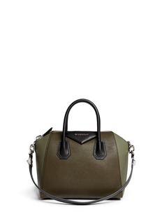 GIVENCHY'Antigona' small colourblock leather satchel