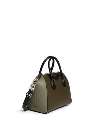 Figure View - Click To Enlarge - Givenchy - 'Antigona' small colourblock leather bag