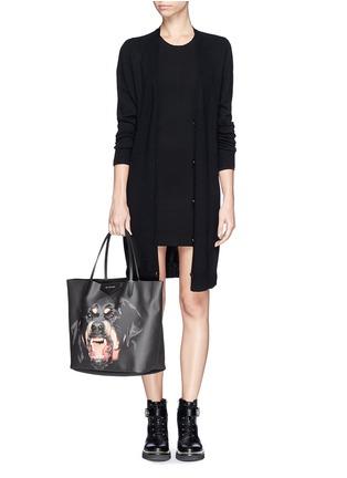 Figure View - Click To Enlarge - Givenchy - 'Antigona' medium Rottweiler print tote