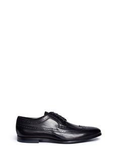 Paul Smith 'Wells' longwing brogue leather Derbies
