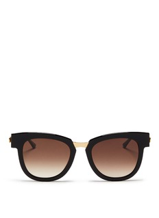 Thierry Lasry 'Mondanity' square acetate metal template sunglasses