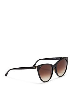 Thierry Lasry 'Swappy' slim cat eye acetate sunglasses