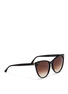 Thierry Lasry'Swappy' slim cat eye acetate sunglasses