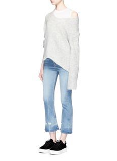 rag & bone/JEANRipped cuff flare jeans