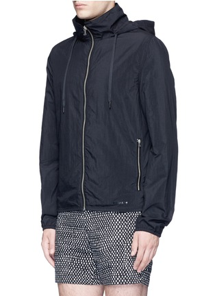 Front View - Click To Enlarge - DANWARD - Hood windbreaker jacket