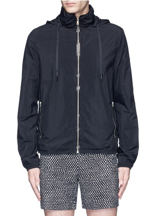 Main View - Click To Enlarge - DANWARD - Hood windbreaker jacket