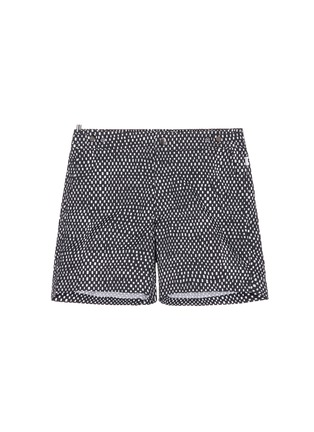 Main View - Click To Enlarge - DANWARD - Mid length geometric print swim shorts