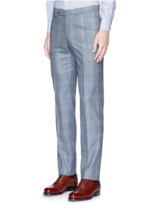 Detail View - Click To Enlarge - ISAIA - 'Gregory' wool houndstooth suit