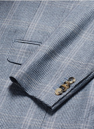 ISAIA - 'Gregory' wool houndstooth suit