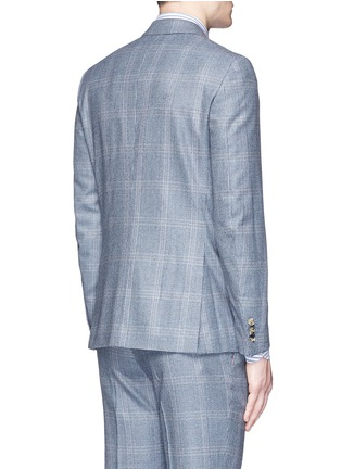 Back View - Click To Enlarge - ISAIA - 'Gregory' wool houndstooth suit