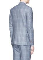 'Gregory' wool houndstooth suit