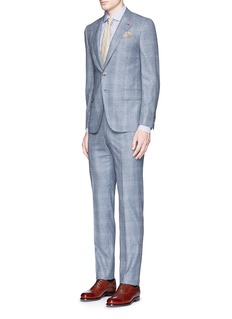 ISAIA 'Gregory' wool houndstooth suit