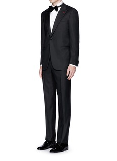 ISAIALondra' cotton jacquard tuxedo shirt