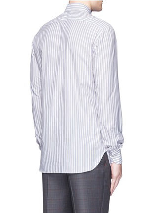 ISAIA - 'Milano' stripe cotton shirt