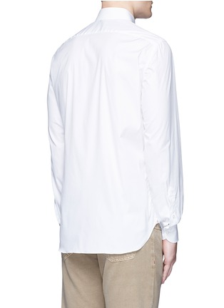 Back View - Click To Enlarge - ISAIA - 'Parma' stretch cotton shirt