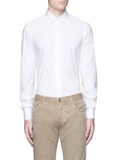 ISAIA'Parma' stretch cotton shirt
