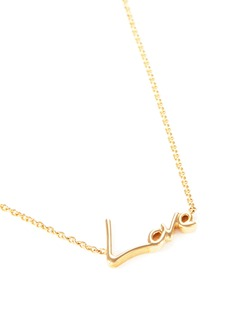 Stephen Webster 'Neon Love' 18k yellow gold pendant necklace