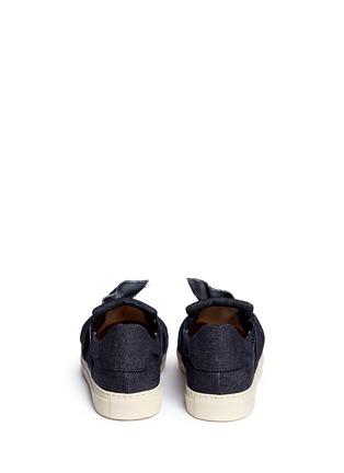 背面 - 点击放大 - PORTS 1961 - 扭结装饰牛仔平底便鞋