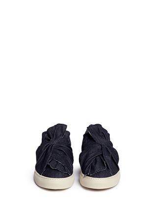 正面 -点击放大 - PORTS 1961 - 扭结装饰牛仔平底便鞋