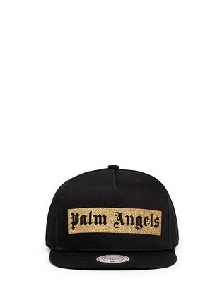 首图 - 点击放大 - PALM ANGELS - 金色闪粉品牌标志纯棉棒球帽
