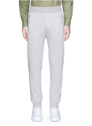 Main View - Click To Enlarge - Acne Studios - 'Johna' zip pocket jogging pants
