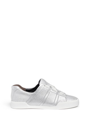 Main View - Click To Enlarge - 3.1 Phillip Lim - 'Morgan' metallic leather low top sneakers