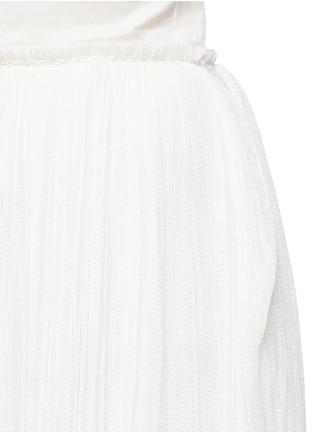 The Row-'Hanvo' pleat tulle maxi skirt