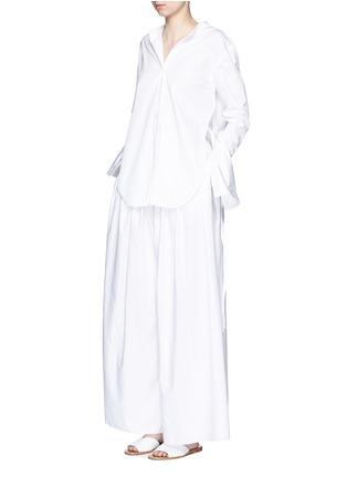The Row-'Vopa' sea island cotton-linen pants