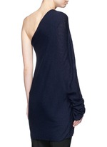 'Shelda' one-shoulder cashmere-silk sweater