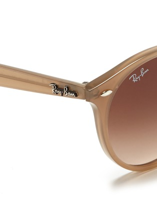 Detail View - Click To Enlarge - Ray-Ban - Round frame acetate sunglasses