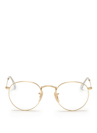 Main View - Click To Enlarge - Ray-Ban - Round metal optical glasses
