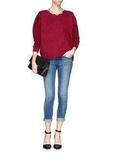 J. CREWCollection bonded Merino wool zip sweater