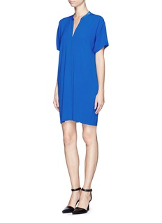 VINCE Crepe stitched dress