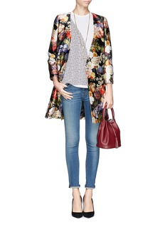 J. CREWCollection Dutch floral wrap dress