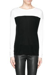 VINCEColourblock T-shirt