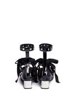 x Robert Clergerie 'Susa' eyelet strappy suede pumps