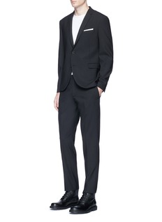 Neil BarrettSlim fit virgin wool blend suit
