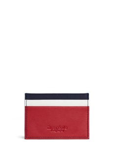 Etre Cecile  'Dog Face' leather card holder