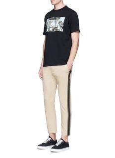 Palm Angels'Buzer Beater' print cotton T-shirt