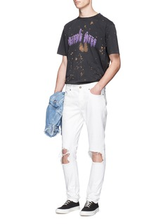 Palm Angels'Purple Haze' splash print T-shirt