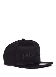 Palm Angels Rubberised logo baseball cap