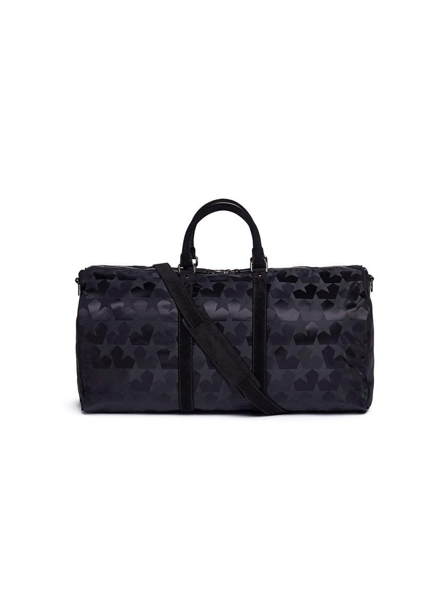 Star jacquard duffle bag by Ports
