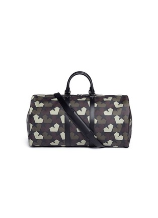 Main View - Click To Enlarge - Ports 1961 - 'Star Camo' print duffle bag