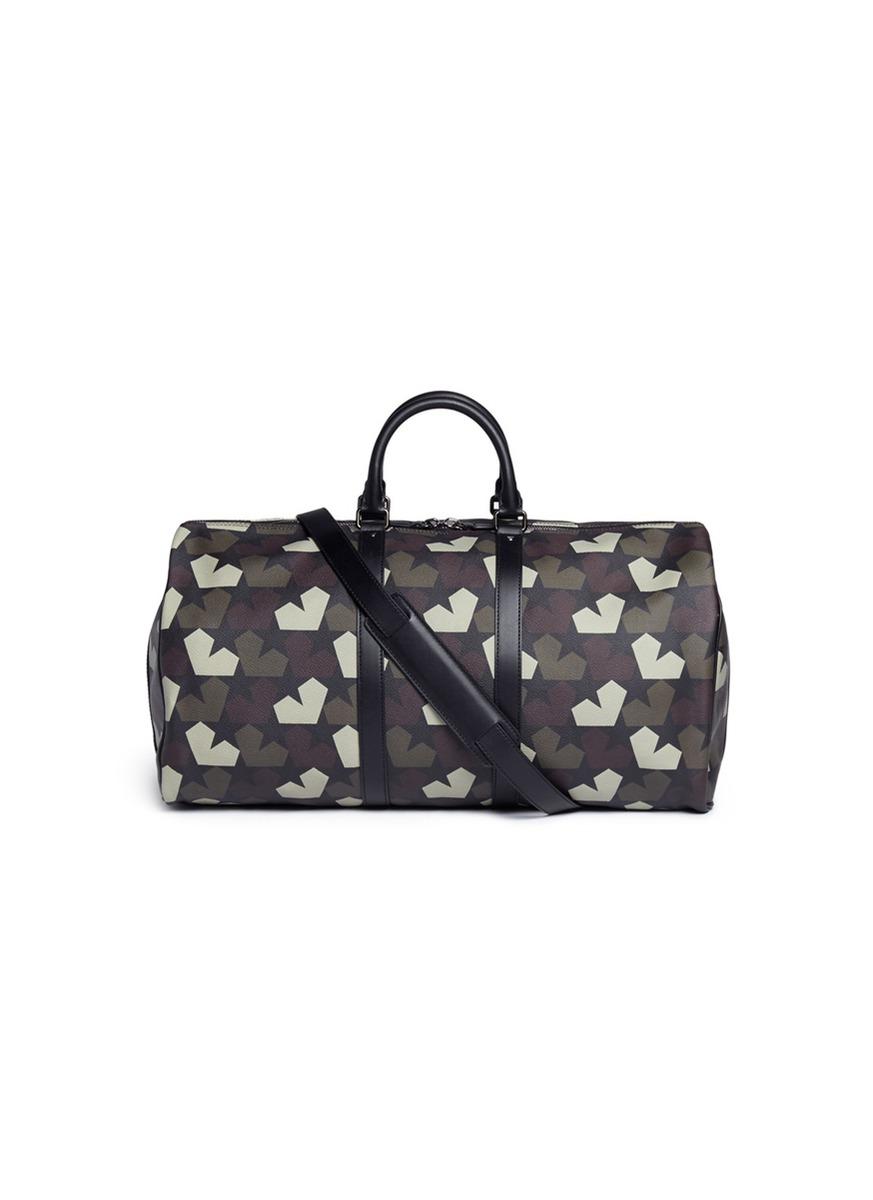 Star Camo print duffle bag by Ports