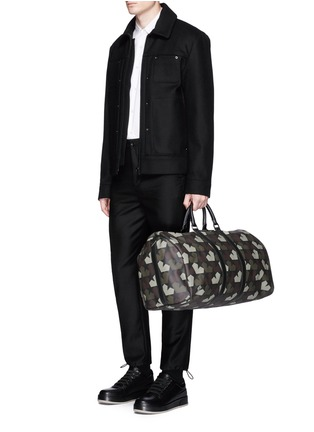 Figure View - Click To Enlarge - Ports 1961 - 'Star Camo' print duffle bag