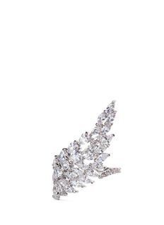Fallon 'Monarch Cluster Wing' cubic zirconia ring