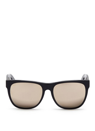 Main View - Click To Enlarge - SUPER - 'Classic' flat top acetate sunglasses